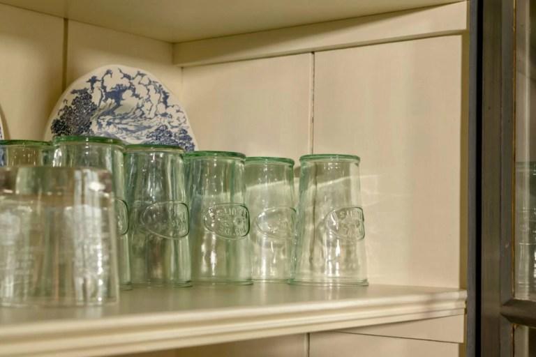 Oudhollandse keuken Hooge Zwaluwe glazen