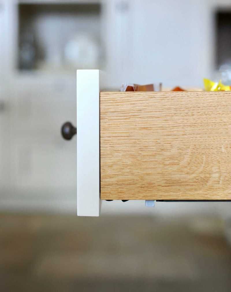 Witte keuken Breukelen lade