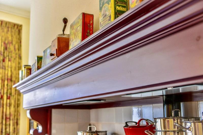 Houten keuken Hilvarenbeek schouw