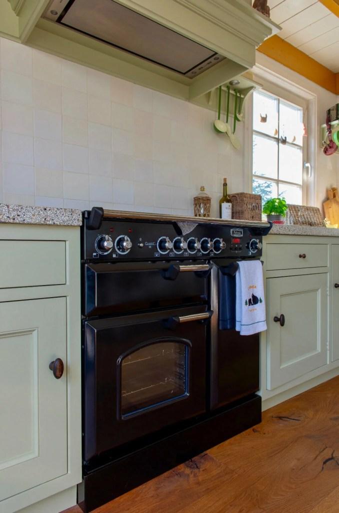 Nostalgische keuken Dordrecht falcon fornuis