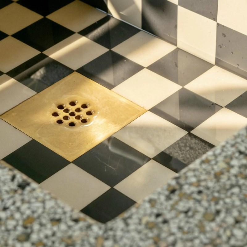 Nostalgische keuken Dordrecht spoelbak mozaiek