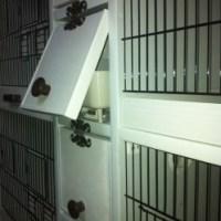 Pvc muhabbet kuşu kafesi