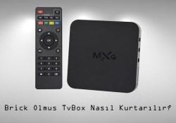 Brick Android Cihazları Kurtarma (TV BOX – Z28 – H96)