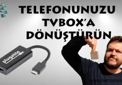 Telefonunuzu tvbox yapın! Eski telefonların çekmeceden çıkma vakti…