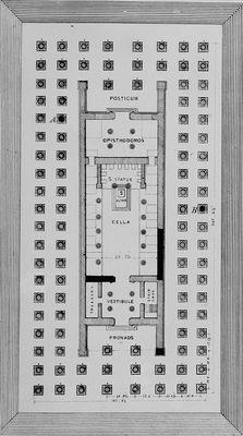 Le Temple D'artémis à éphèse : temple, d'artémis, éphèse, Temple, D'Artémis