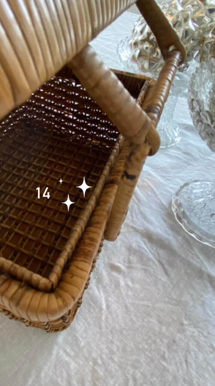 calendrier de l'avent merveilles de marie panier osier