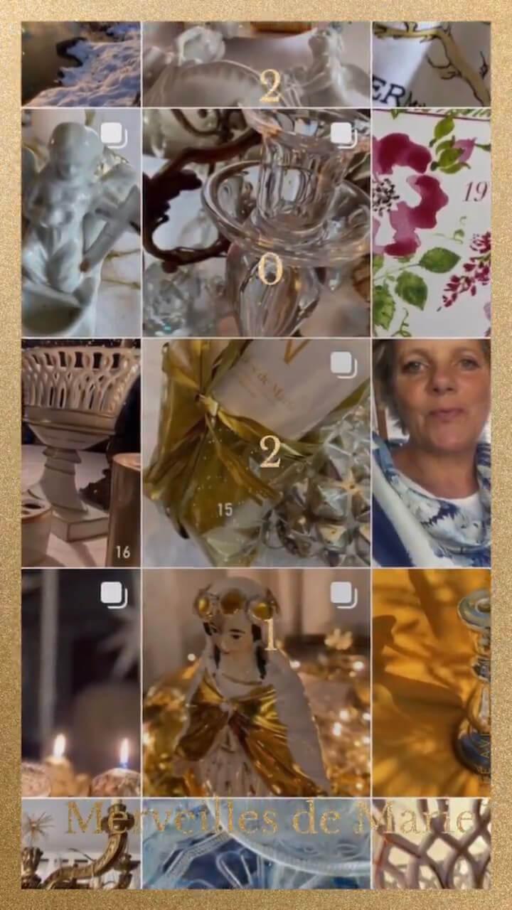 merveilles de marie 2021 décoration intérieure