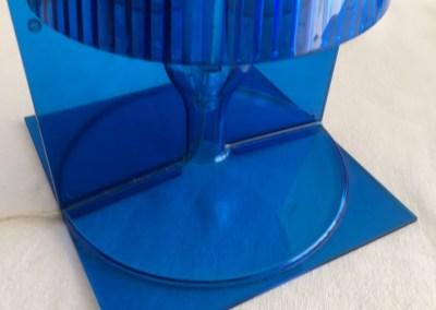 Lampe Kartell Take bleu