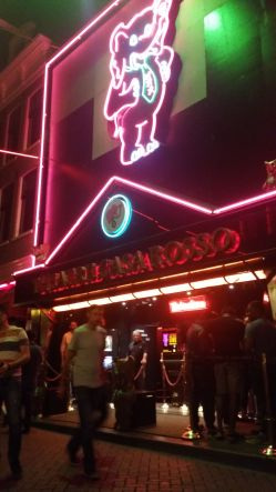 Most famous Live Sex Show in the Red Light District