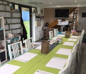 Atelier Stampin Up! chez Sonia BENEDETTI