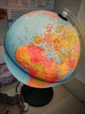 globe pour decouvrir le monde