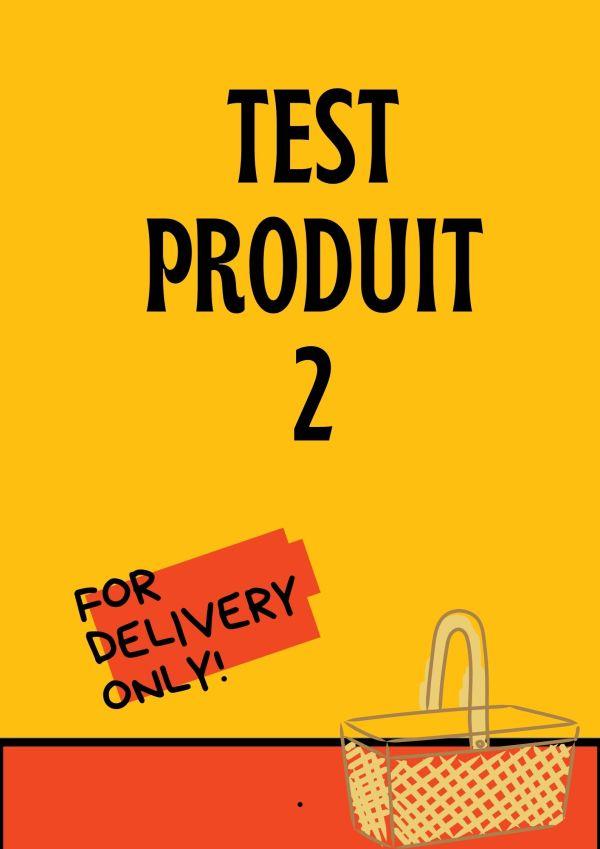 test produit 2 boutique