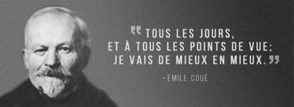 méthode d'autosuggestion par Emile Coué