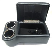 1955 1956 1957 Chevy Bench Seat Console-Cup Holder, Black ...