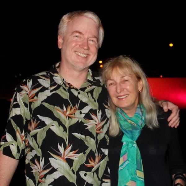 Matthew Carlos Schwartz and Paula Dunaway Merwin