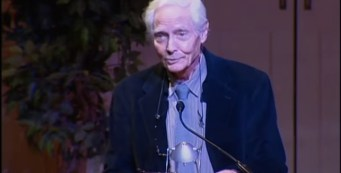 Poet Laureate W.S. Merwin Inaugural Speech at Library of Congress