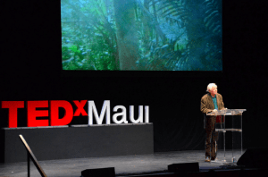 W.S. Merwin speaks at TedxMaui