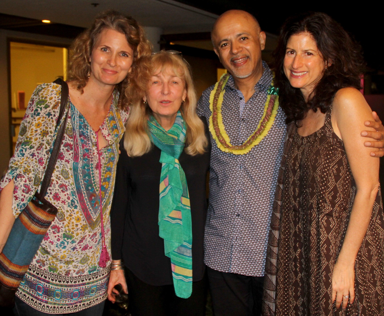 Karen Bouris, Paula Merwin, Dr. Verghese, and Cari Kapur.