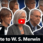 92Y Tribute to W.S. Merwin
