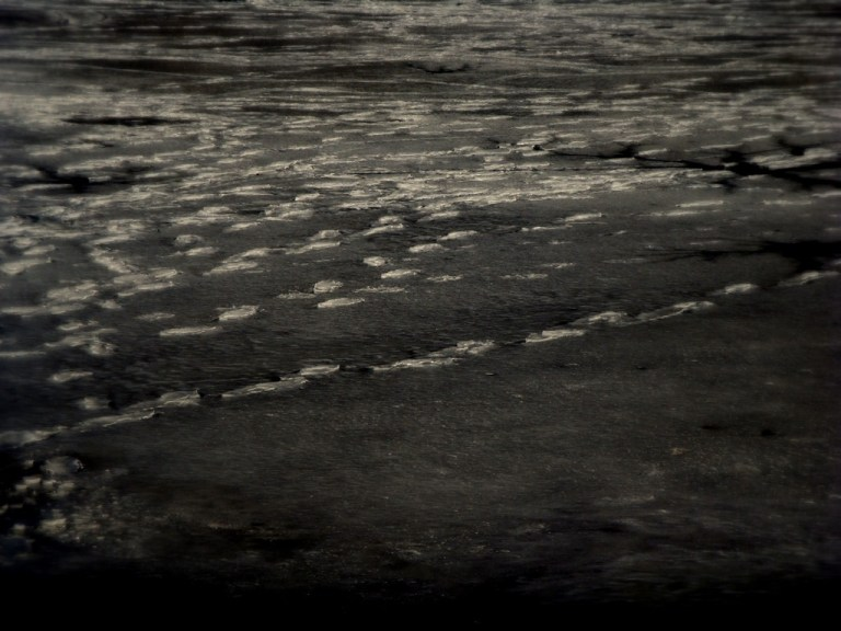 Frozen Footprints by Kurtis Garbutt