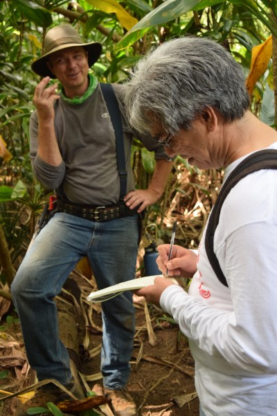 Maui News Reporter/Editor Lee Imada Interviews Olin Erickson, the Merwin's Head Gardener