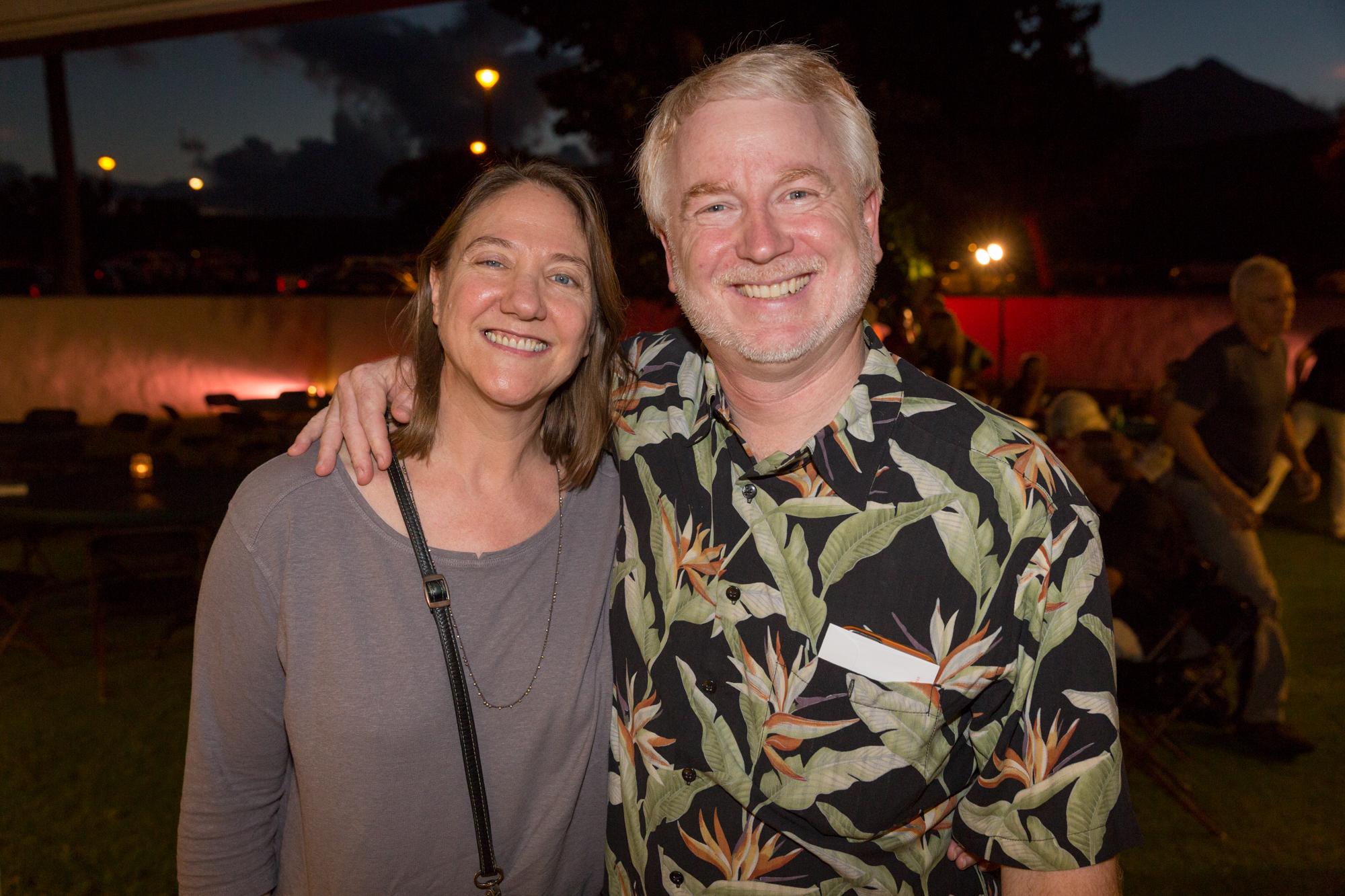 Conservancy President Matt Schwartz and wife Karen