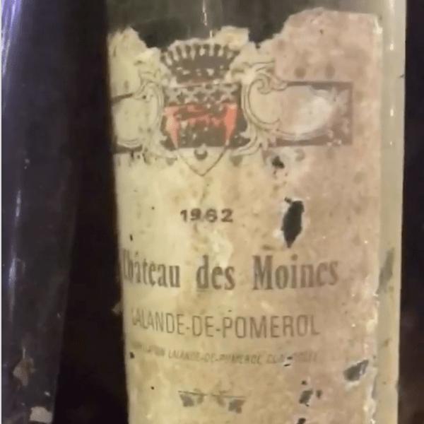 Wine Bottles Found Under Merwin's House