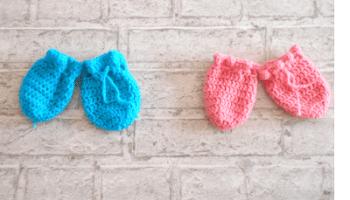 Chaussons Au Crochet Pour Bébé 1 ère Partie Semelle