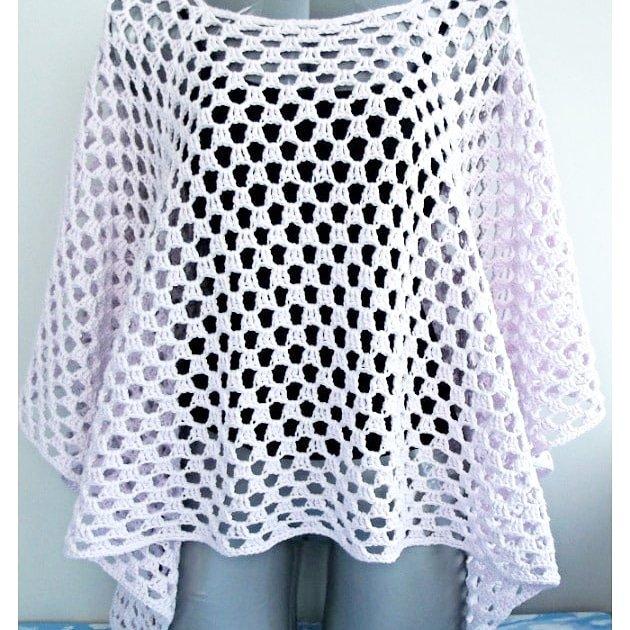 Poncho Facile Et Moderne Au Crochet Mery Crochet