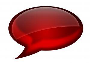 Twitter chat balloon