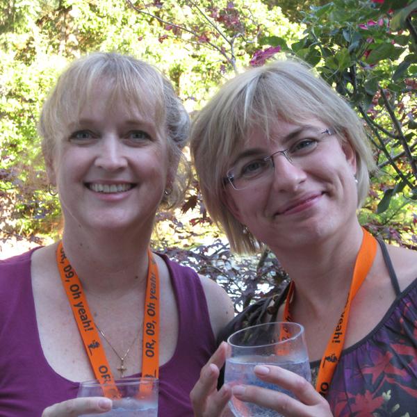 Gail McEwen & Tina Moncton