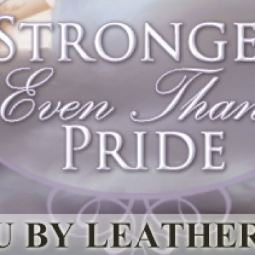 Stronger Even Than Pride Blog Tour, June 16-27