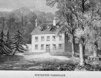 Steventon parsonage, Jane Austen's childhood home. The Watsons family may have lived in a house similar to this one.