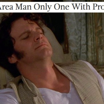 Austen + The Onion round-up and wrap-up