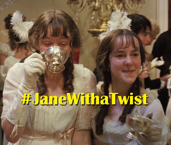 In High Spirits for a Ball: #JaneWithATwist
