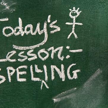 Smart Authors Self-Edit Spelling