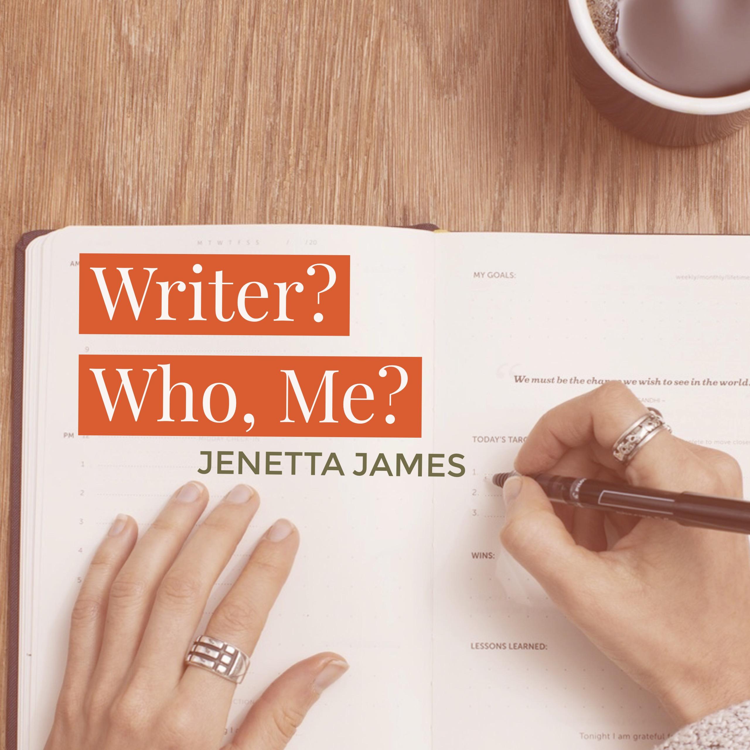Writer? Who, Me?