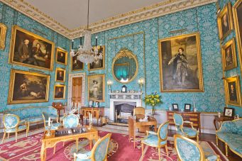 Turquoise Drawing Room