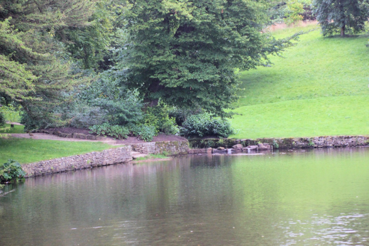 Lyme Park-Photo by Janet Taylor The pond at Pemberley as seen from Darcy's bedroom window