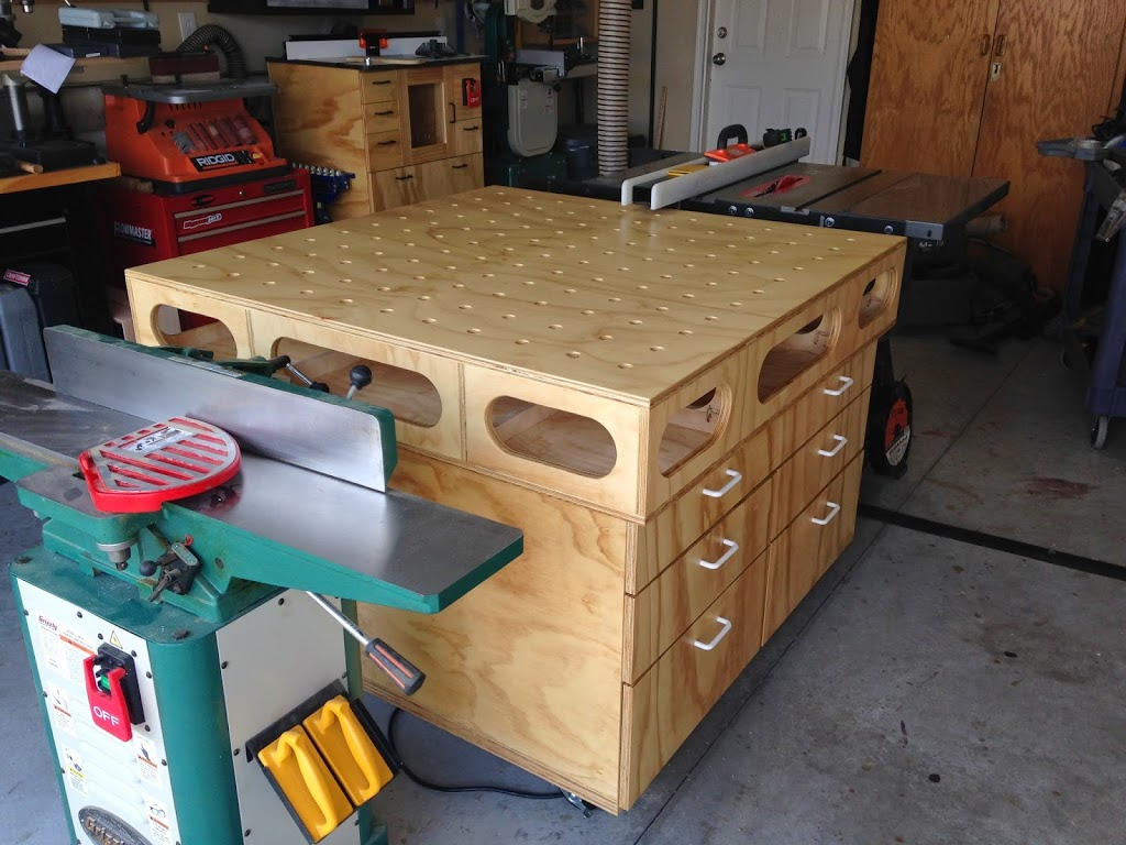 Multi Purpose Table Merzke Custom Woodworking