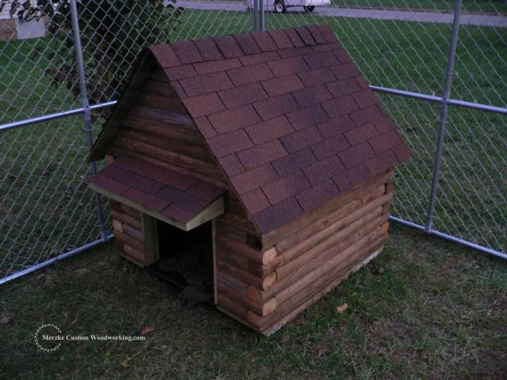 Rustic Dog House