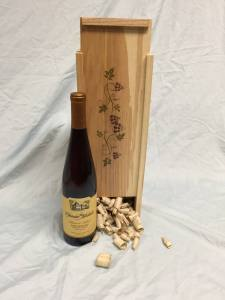 Custom Wood Wine Box