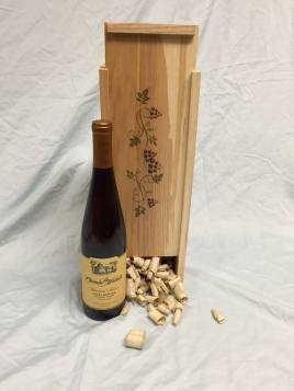 Custom Wood Wine Box