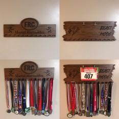 Custom made medal hangers