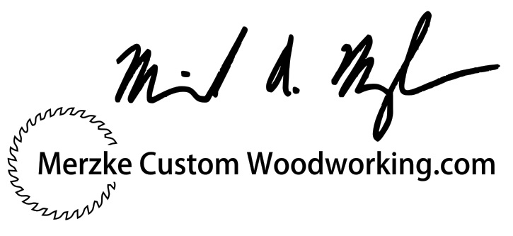 Merzke Custom Woodworking Logo