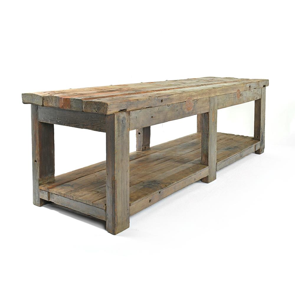 longue table en bois patine mes decouvertes julien cohen