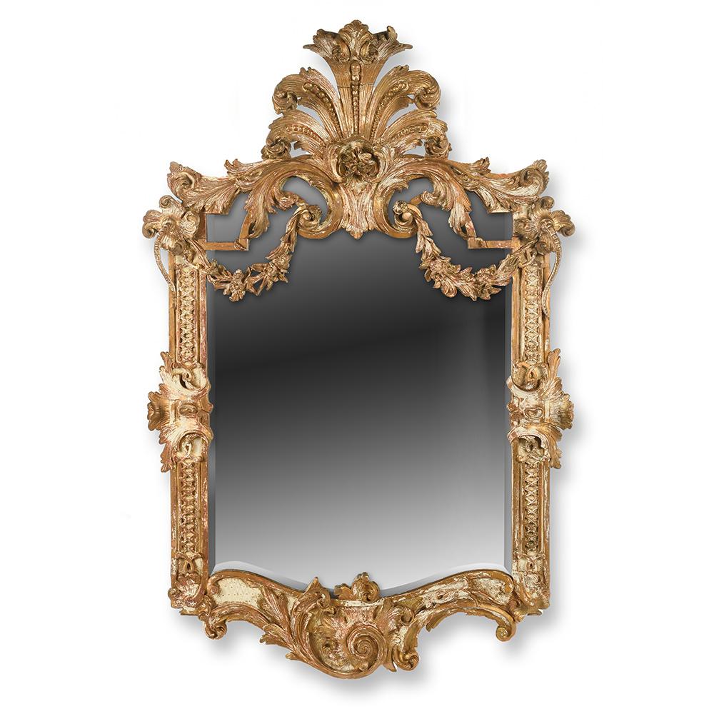 grand miroir louis xvi en bois sculpte et dore mes decouvertes julien cohen