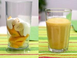 smoothie à la mangue pour faire le plein d'énergie