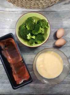 cuisiner un flan brocoli et saumon fumé sans gluten et sans lactose