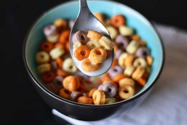 teneur en sucre ajoute des cereales industrielles